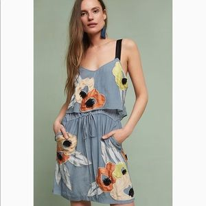 Pippa beaded floral dress